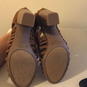 Guess Shoes - Guess caged block heels